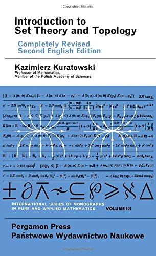 9780080161600: Introduction to Set Theory and Topology (English and Polish Edition)
