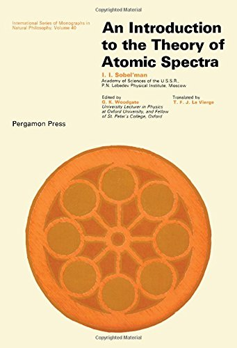 9780080161662: Introduction to the theory of atomic spectra (International series of monographs in natural philosophy)