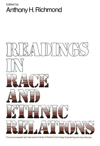 9780080162126: Reading in Race and Ethnic Relations: The Commonwealth and International Library: Reading in Sociology (The Commonwealth and international library. Readings in sociology)
