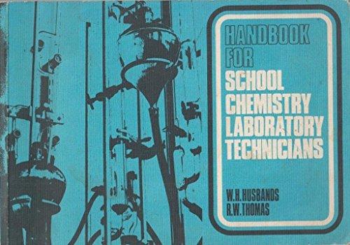 9780080163185: Handbook for School Chemistry Laboratory Technicians