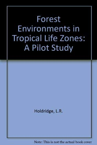 9780080163406: Forest Environments in Tropical Life Zone: A Pilot Study