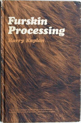 9780080163512: Fur-skin Processing (The Commonwealth and international library. Leather technology)