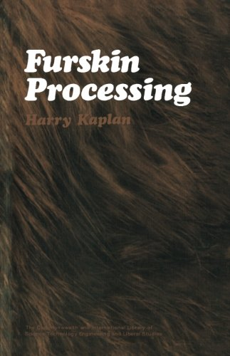 9780080163529: Furskin Processing: The Commonwealth and International Library: Leather Technology