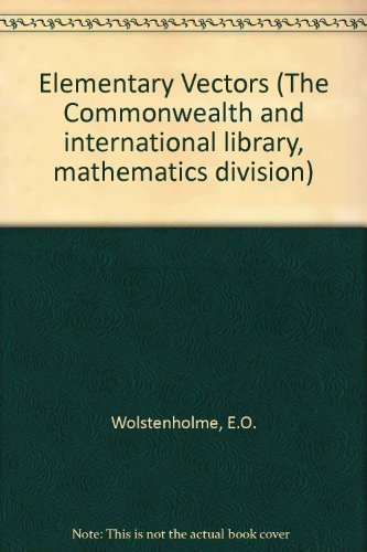 9780080165691: Elementary Vectors (The Commonwealth and international library, mathematics division)