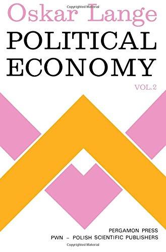 9780080165721: Political Economy