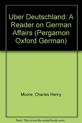 9780080165844: Uber Deutschland: A Reader on German Affairs