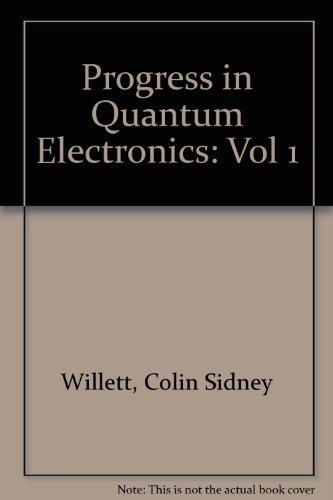9780080166520: Laser lines in atomic species, (Progress in quantum electronics) (Vol 1)