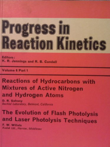 Progress in Reaction Kinetics: Vol 6