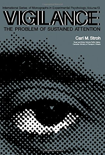9780080167114: Vigilance: The Problem of Sustained Attention (International series of monographs in experimental psychology)