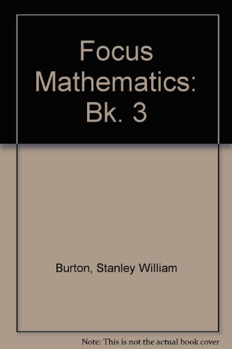 9780080167299: Focus Mathematics: Bk. 3