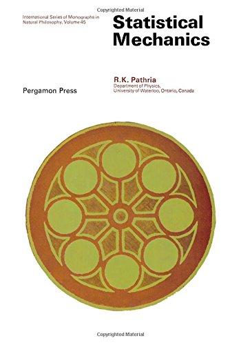 9780080167473: Statistical mechanics, (International series of monographs in natural philosophy)