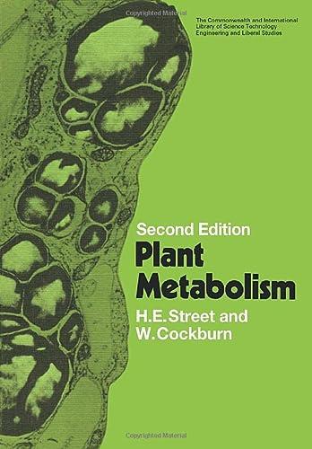 9780080167534: Plant Metabolism