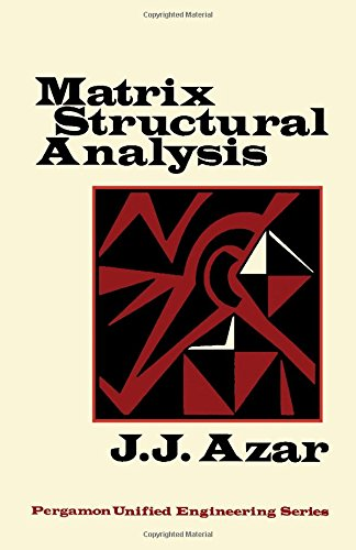9780080167817: Matrix Structural Analysis (Pergamon unified engineering series, v. 8)