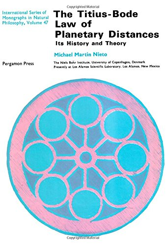 9780080167848: Titius-Bode Law of Planetary Distances: Its History and Theory
