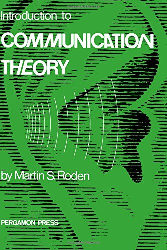 9780080168036: Introduction to Communication Theory
