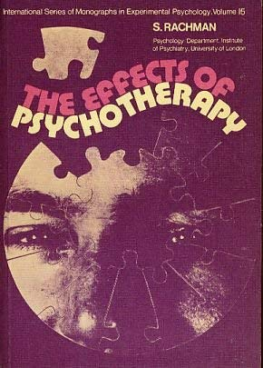 9780080168050: Effects of Psychotherapy (Monographs in Experimental Psychology)