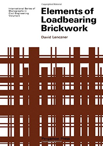 9780080168142: Elements of Loadbearing Brickwork (Civil Engineering Monographs)