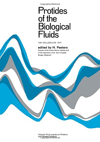 9780080168760: Protides of the Biological Fluids Volume 19