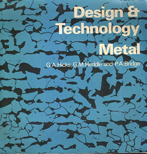 9780080168975: Design and Technology: Metal