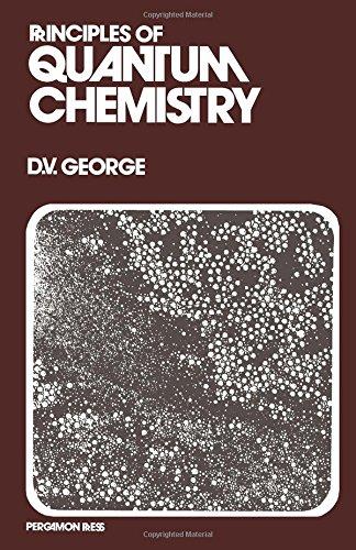 9780080169255: Principles of Quantum Chemistry