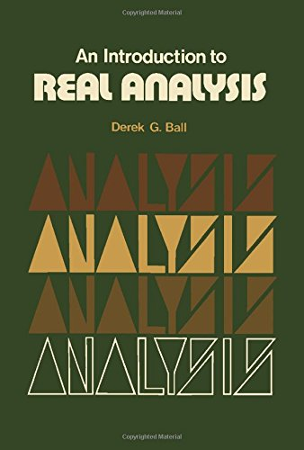 9780080169361: An introduction to real analysis, (The Commonwealth and international library)