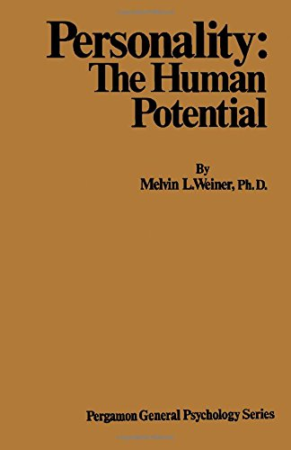 9780080169460: Personality: The Human Potential (General Psychology)