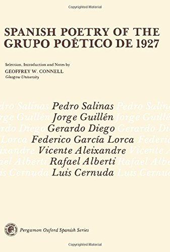 9780080169507: Spanish Poetry of the Grupo Poetico De 1927 (Pergamon Oxford Spanish)