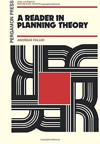 9780080170671: A Reader in Planning Theory (Urban and Regional Planning Series)