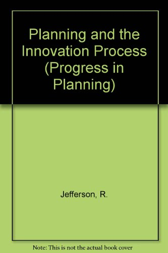 9780080171814: Planning and the Innovation Process (Progress in Planning)