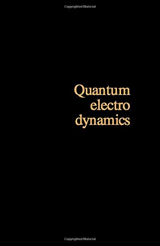 9780080171883: Quantum Electrodynamics (Monographs in Natural Philosophy) (English and Polish Edition)