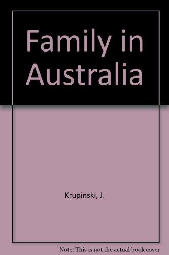 9780080173740: Family in Australia