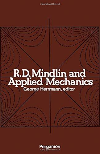 9780080177106: R.D.Mindlin and Applied Mechanics