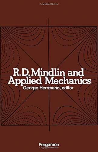 9780080177106: R.D.Mindlin and Applied Mechanics