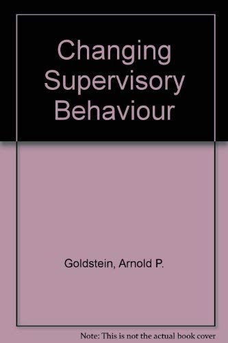 9780080177427: Changing Supervisory Behaviour