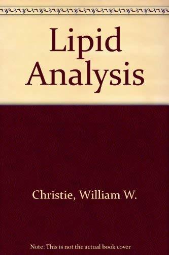 9780080177533: Lipid Analysis