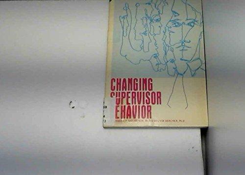 9780080177694: Changing Supervisor Behavior