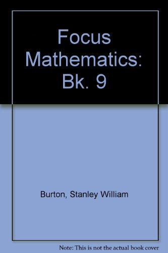 9780080178233: Focus Mathematics: Bk. 9