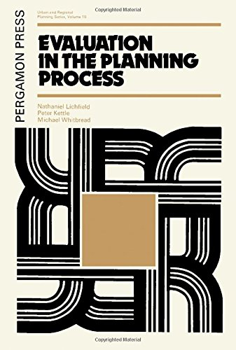 9780080178431: Evaluation in the Planning Process (Urban and regional planning series)