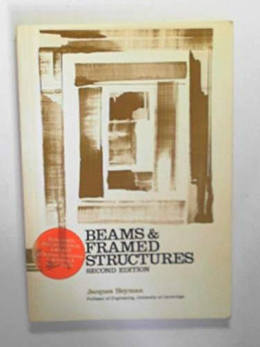9780080179469: Beams and Framed Structures by Heyman, Jacques