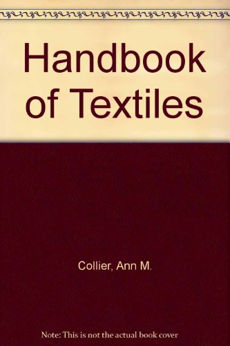 9780080180564: Handbook of Textiles