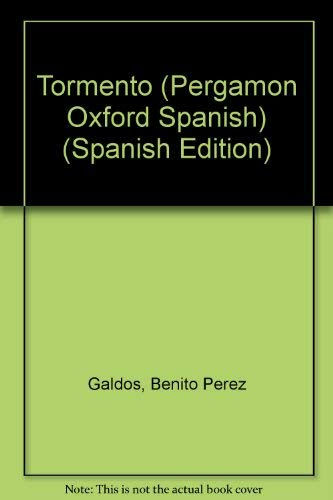 9780080180892: Tormento (Pergamon Oxford Spanish)