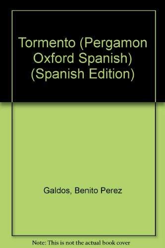 9780080180892: Tormento (Pergamon Oxford Spanish) (English and Spanish Edition)