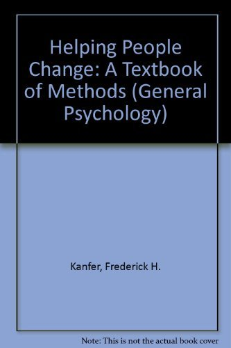 9780080182711: Helping People Change: A Textbook of Methods