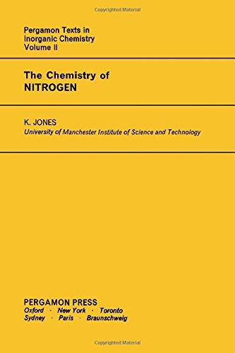 9780080187952: Chemistry of Nitrogen (Texts in Inorganic Chemistry)