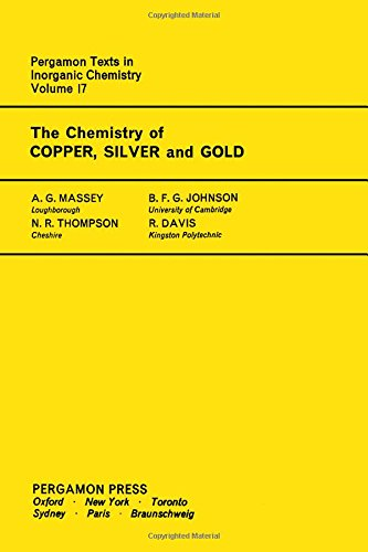 9780080188607: Chemistry of Copper, Silver and Gold (Texts in Inorganic Chemistry)