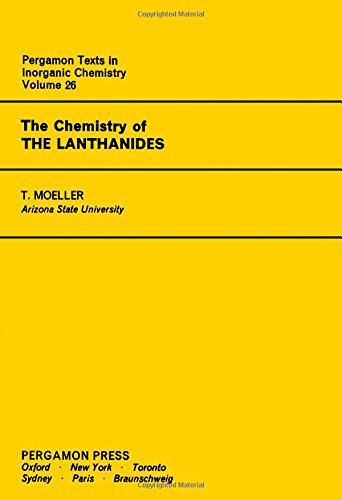 9780080188782: The Chemistry of the Lanthanides