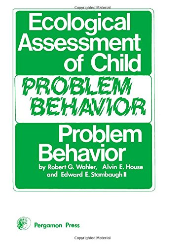 9780080195865: Ecological Assessment of Child Problem Behavior (General Psychology)