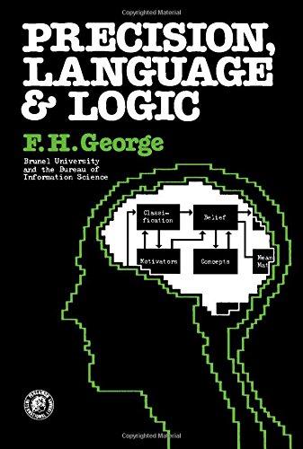 9780080196503: Precision, Language and Logic