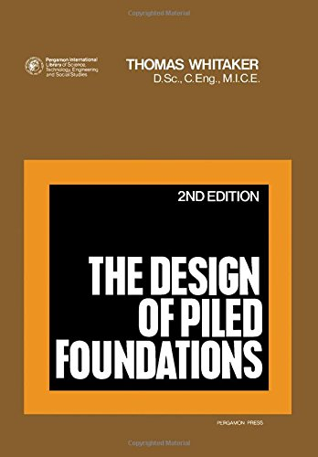 9780080197067: Design of Piled Foundations (Structures and solid body mechanics)