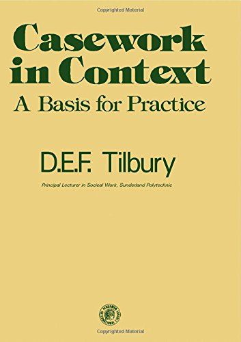 9780080197449: Casework in Context: A Basis for Practice (Social work series)